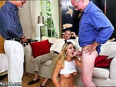 Black, Creampie, Old Man